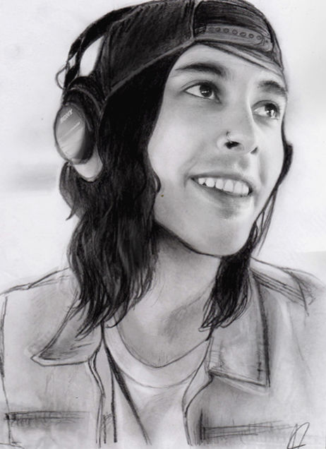 Vic Fuentes by LilySmilingfish