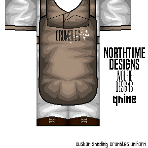 Roblox Crumbles Cafe Uniform By Qnime Rblx On Deviantart