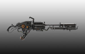Flamethrower Concept by Psycho4140