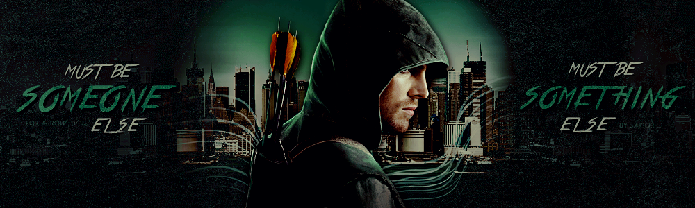 ARROW. Someone / Something else [logo] by Direct-Memory-Access