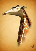 Giraffe Powerful! by LeoAngell