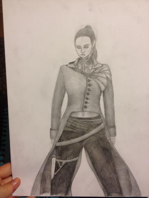 Warrior Girl by Rapper1804artist