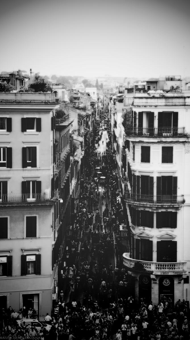 Strade di Roma by AilishNi