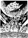 Supergirl and Brainiac, commission.