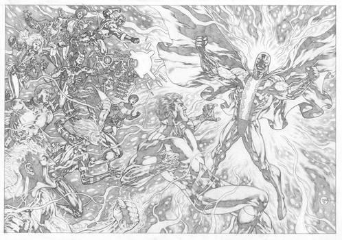 Legion versus Bion! Commission.