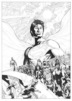 Legion of Super Heroes, commission