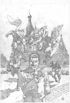 Impact International cover for Argo Comics.