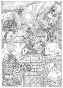 Batman and foes!