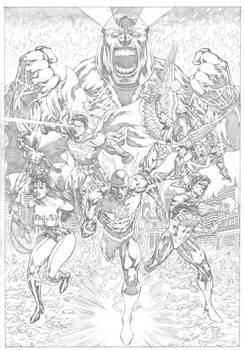 Commission. #darkseid #justiceleagueofamerica #jla