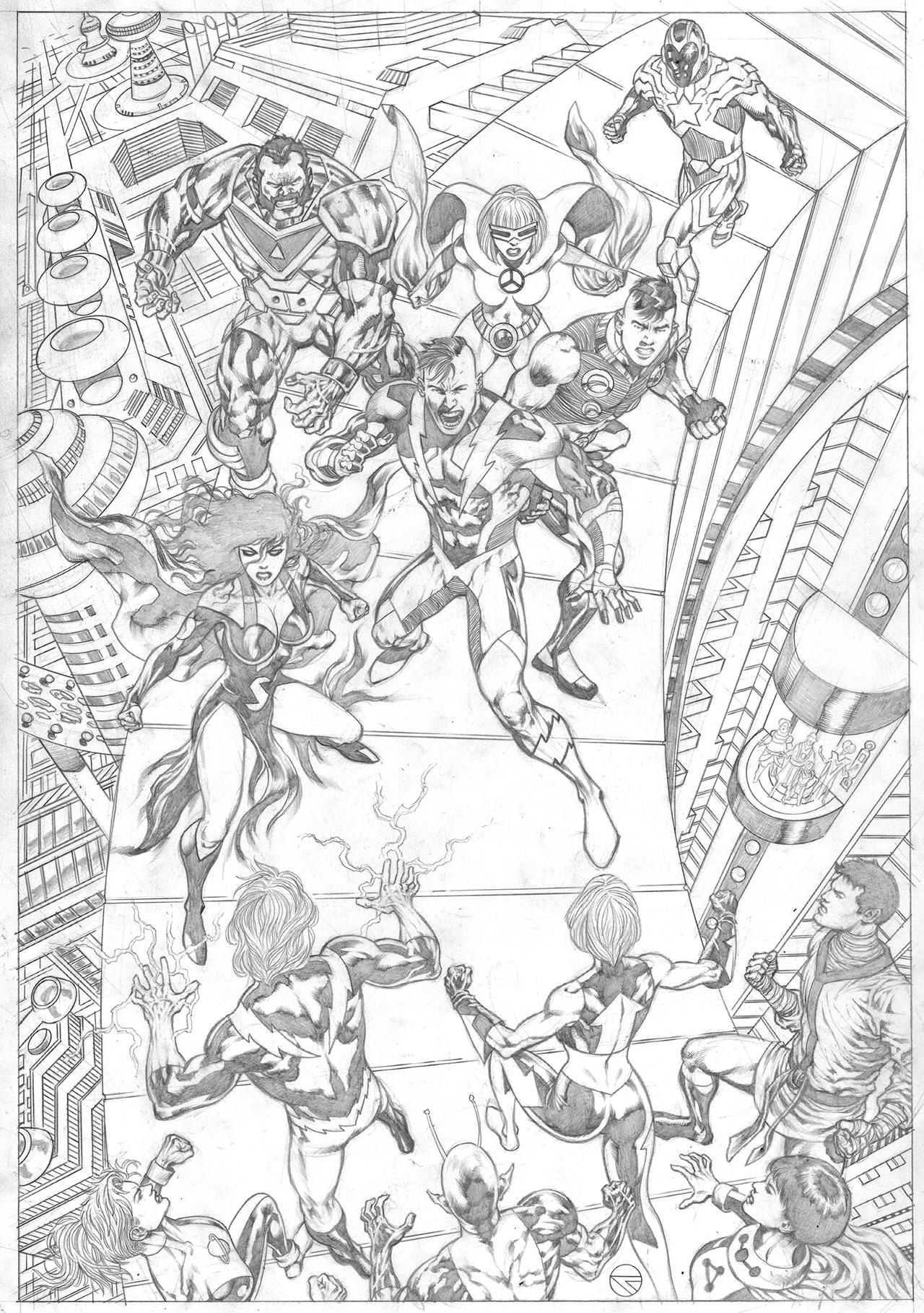 Legion of super-heroes commission