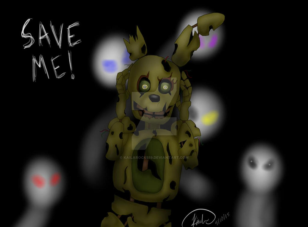 Springtrap by kailarocks19