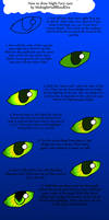 How To draw Night Fury eyes
