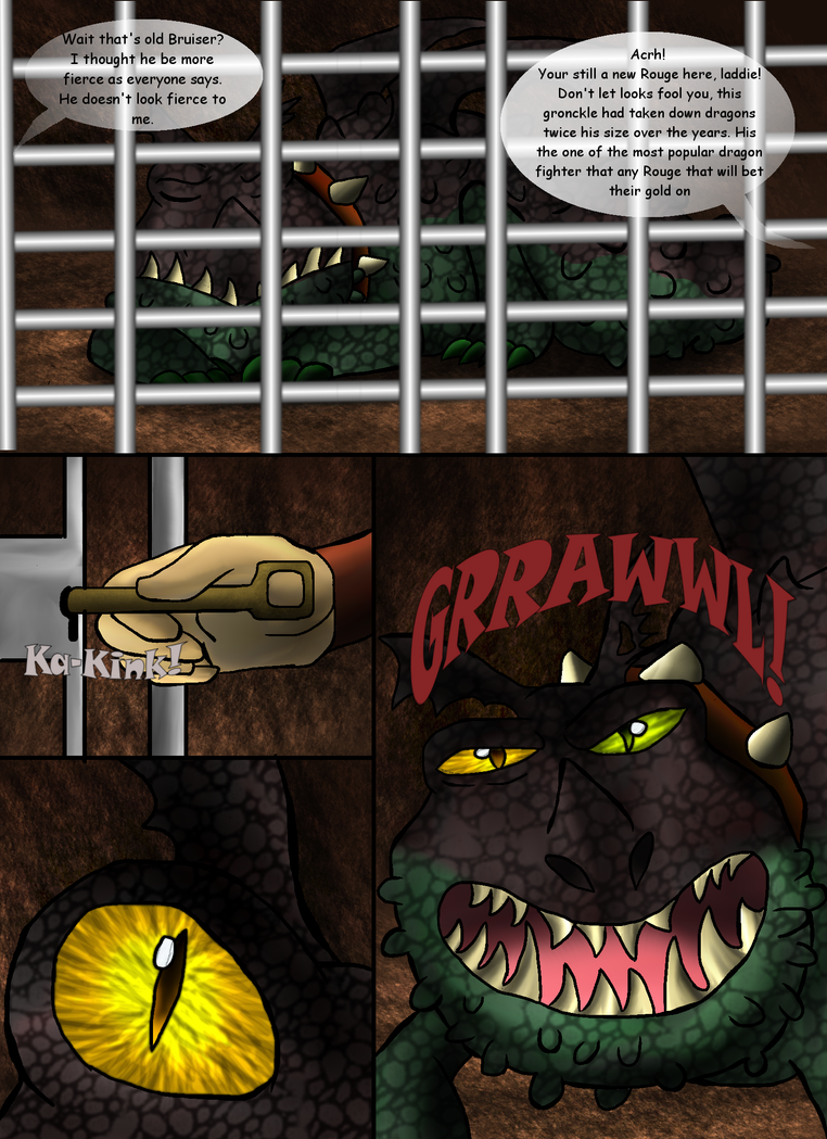 Beautiful Shades Of A Night Fury: Part One-Pg 153 by PandaFilms