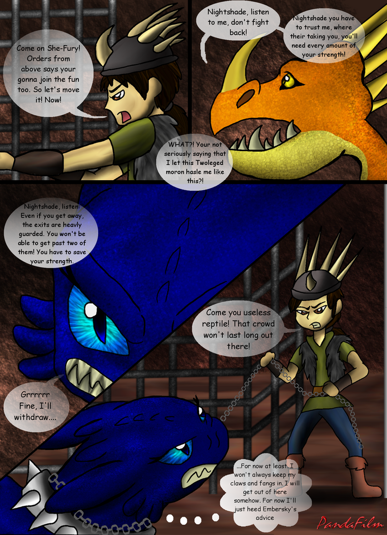 Beautiful Shades Of A Night Fury: Part One-Pg 163 by PandaFilms