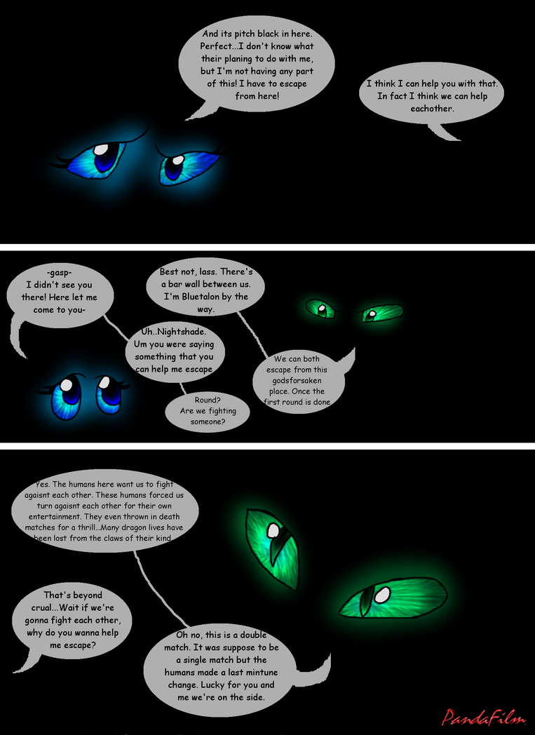 Beautiful Shades Of A Night Fury: Part One-Pg 165 by PandaFilms