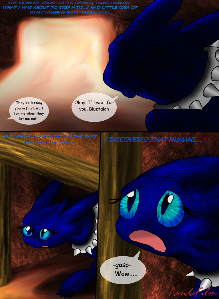 Beautiful Shades Of A Night Fury: Part One-Pg 167 by PandaFilms