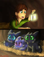 When Hiccup Meets The Cubs by DragonDogFilmsG