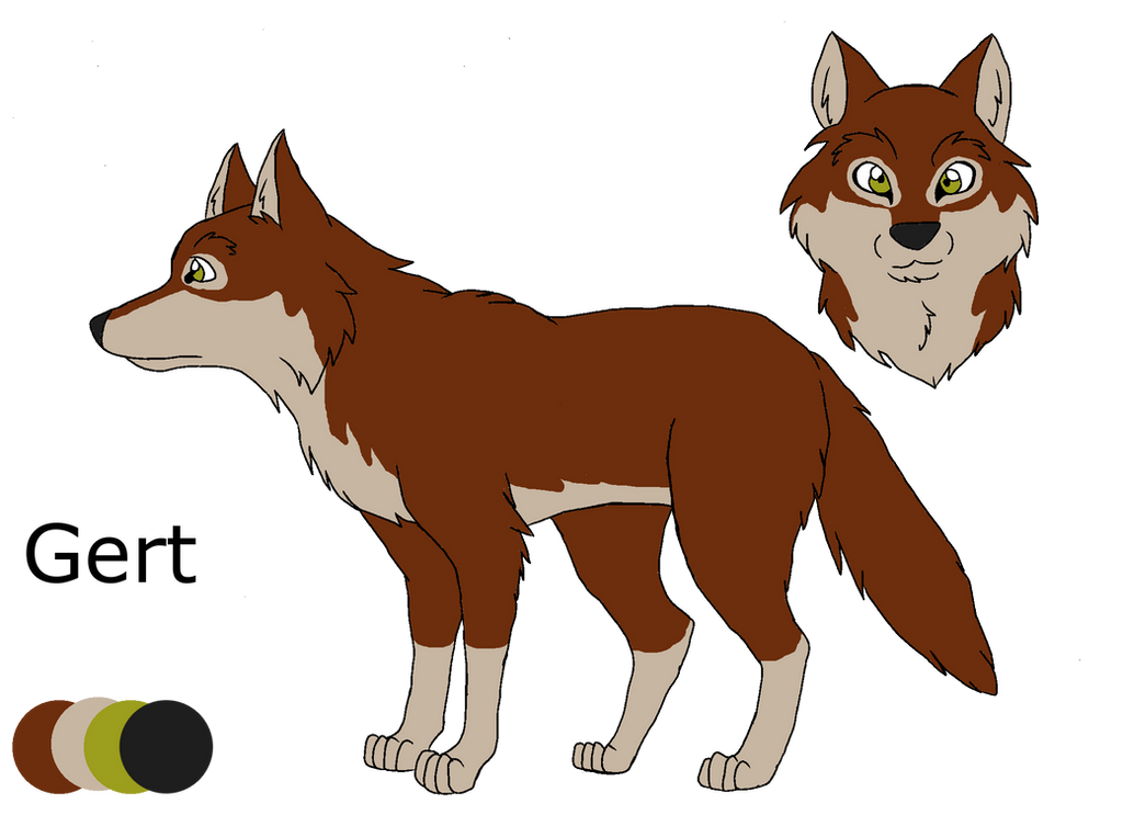 .:Shades of A Wolf Pack:. Gert Ref Sheet by PandaFilms