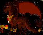 War of Flames- King Ragnor Ref Sheet