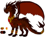 War of Flames- King Ragnor Ref Sheet