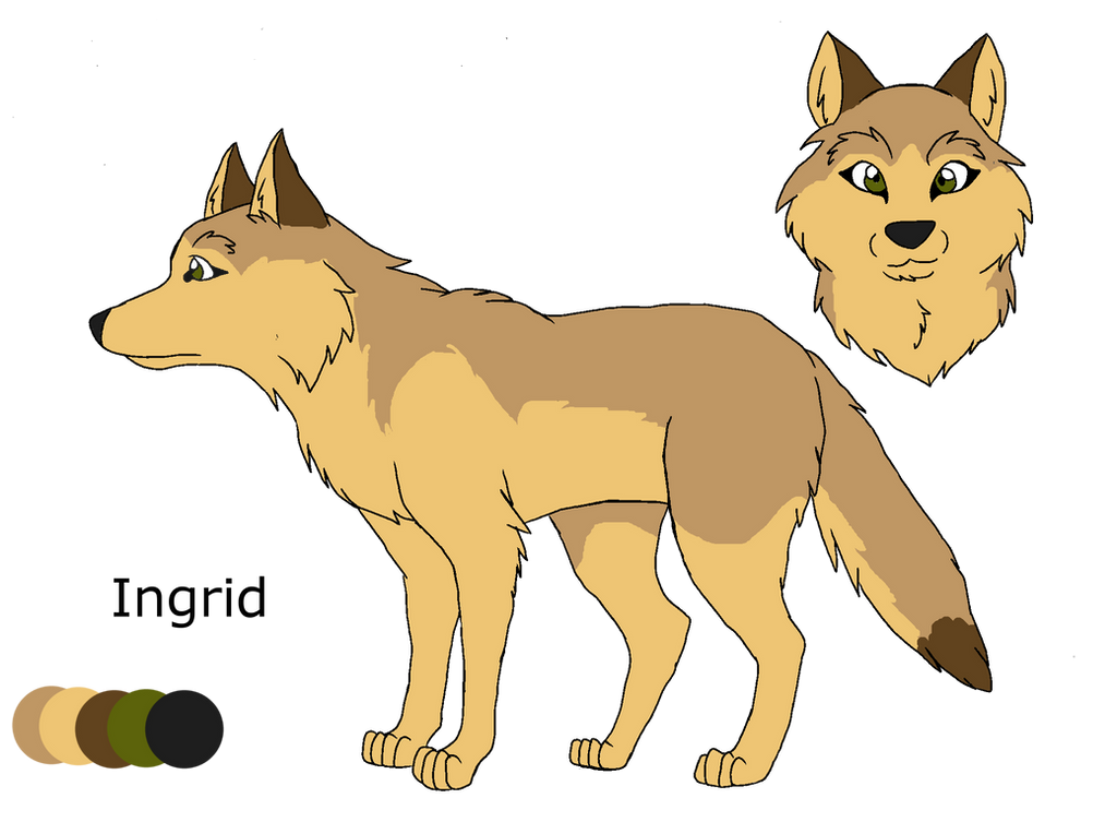 .:Shades of A Wolf Pack:. Ingrid Ref Sheet by PandaFilms