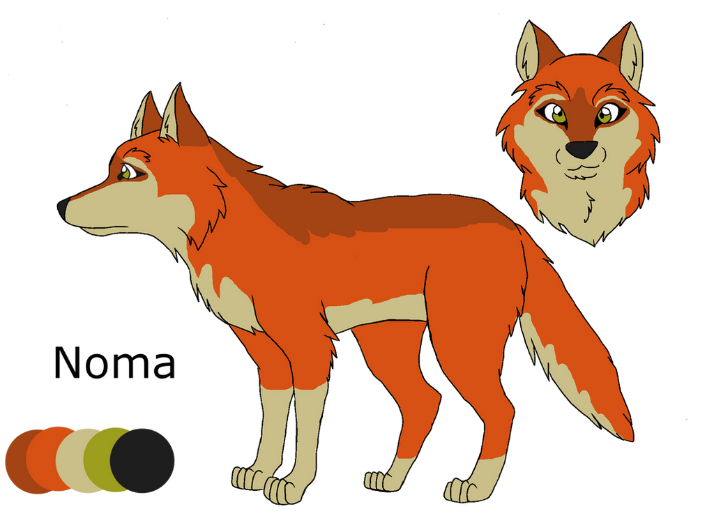 .:Shades of A Wolf Pack:. Noma Ref Sheet by PandaFilms