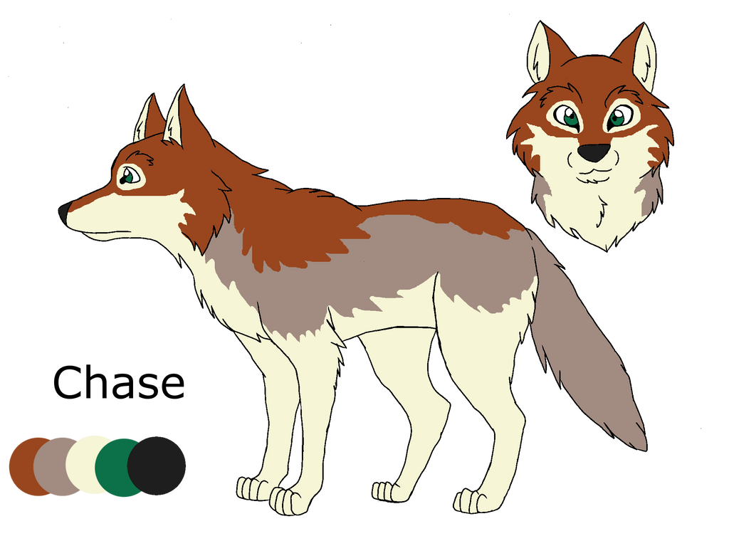 .:Shades of A Wolf Pack:. Chase Ref Sheet by PandaFilms