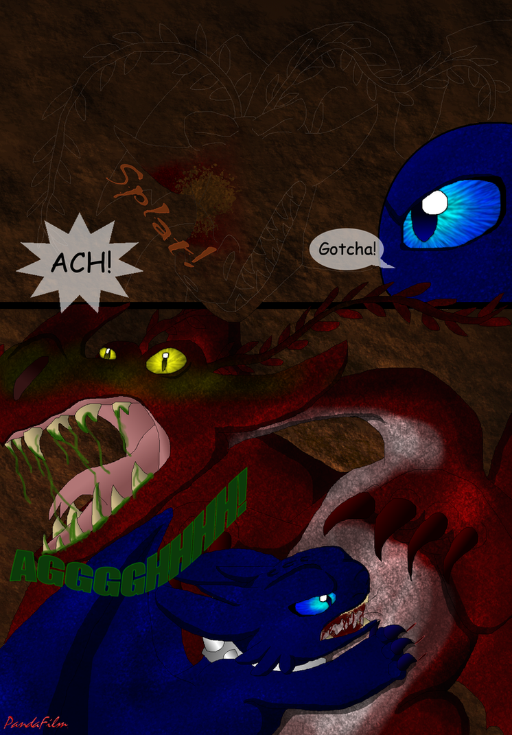 Beautiful Shades Of A Night Fury: Part One-Pg 183 by PandaFilms