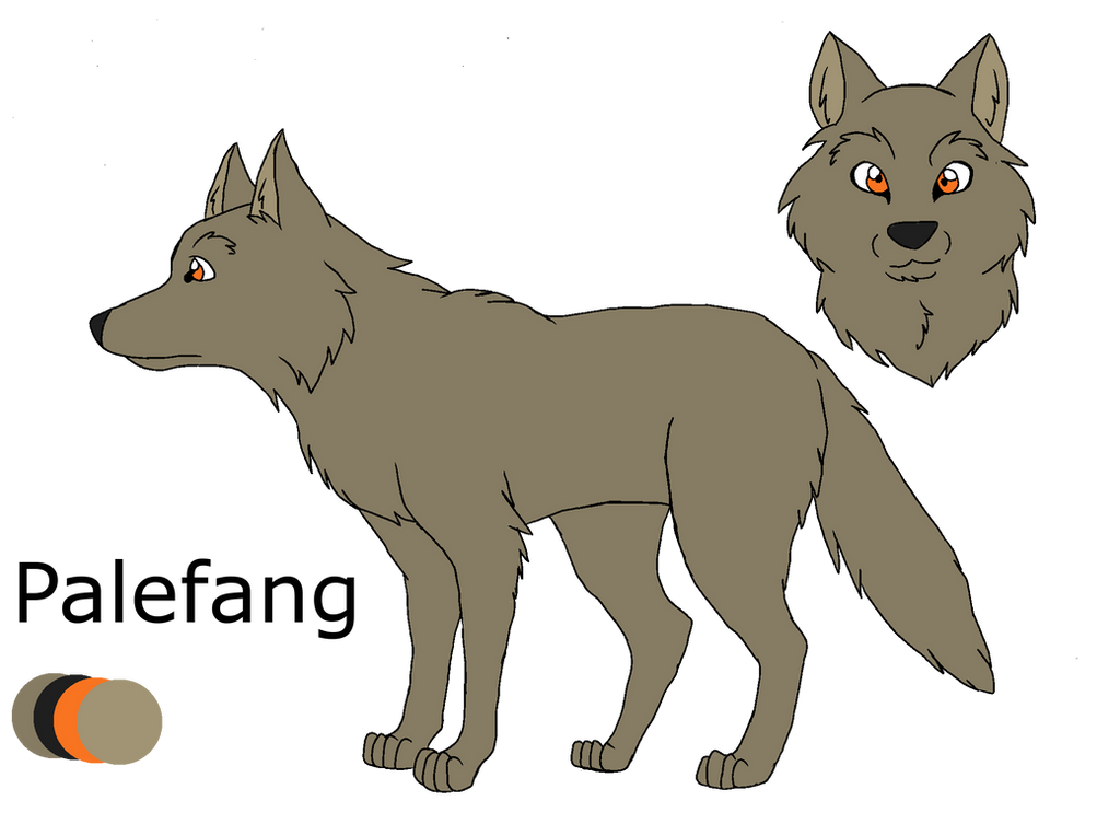 .:Shades of A Wolf Pack:. Palefang Ref Sheet by PandaFilms