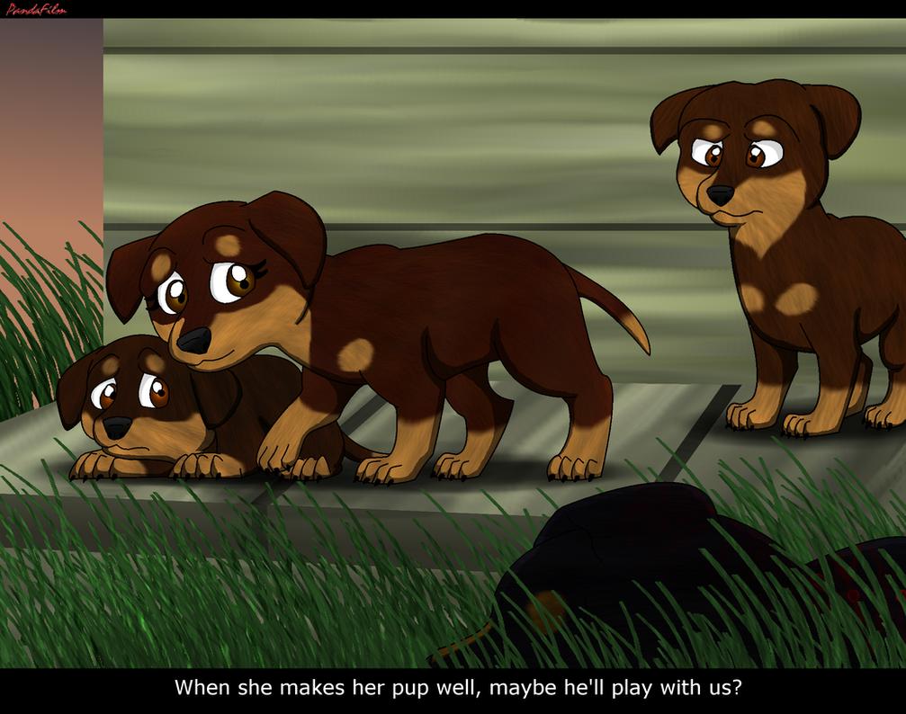 Sweet Dogs Wallpaper Survivors:TGD:A Pack D...