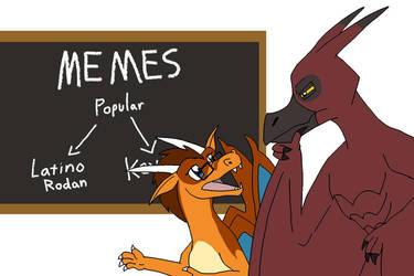 Teaching Rodan about Memes