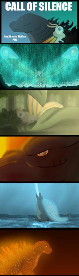Godzilla and Mothra PMV Frames