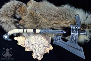 Skyrim Nordic War Axe