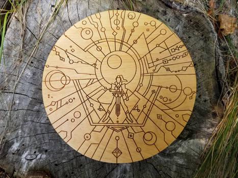 She-ra - Wood Medallion