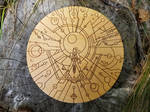 She-ra - Wood Medallion