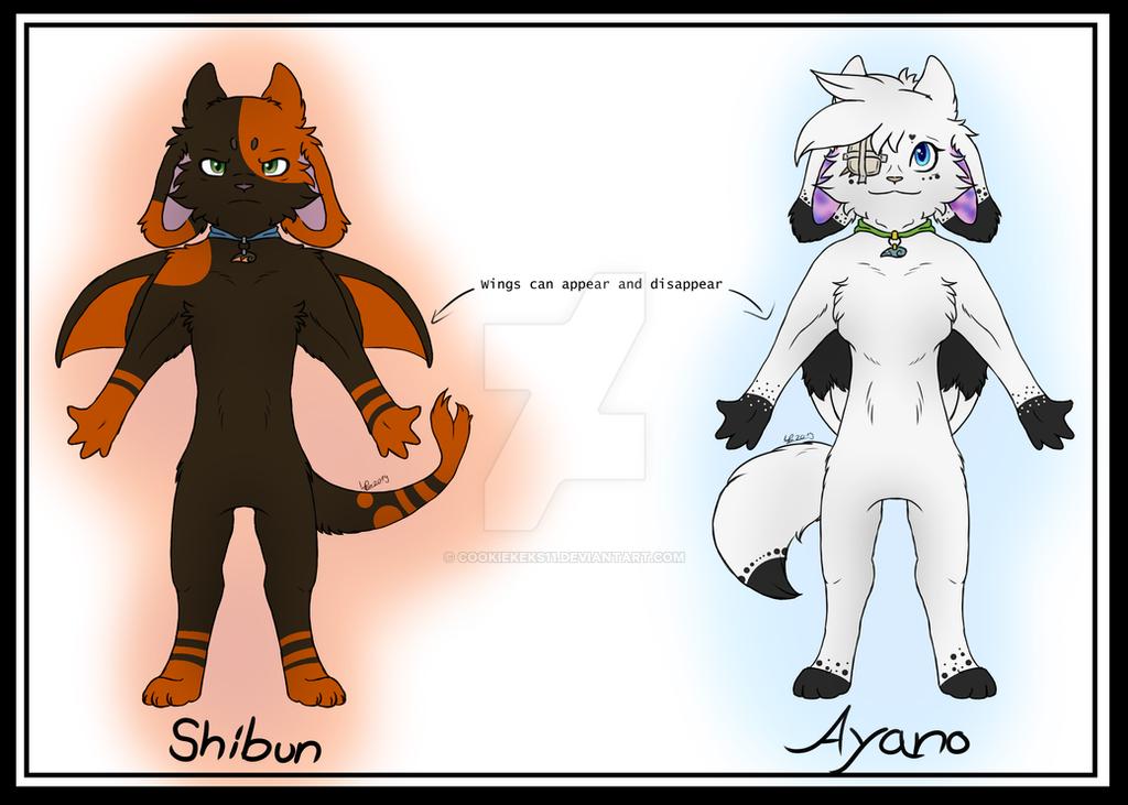 Ayano and Shibun by CookieKeks11