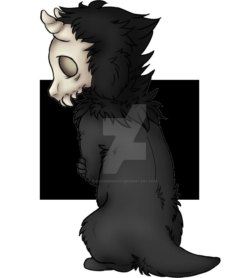 Alone Demon Kid by CookieKeks11