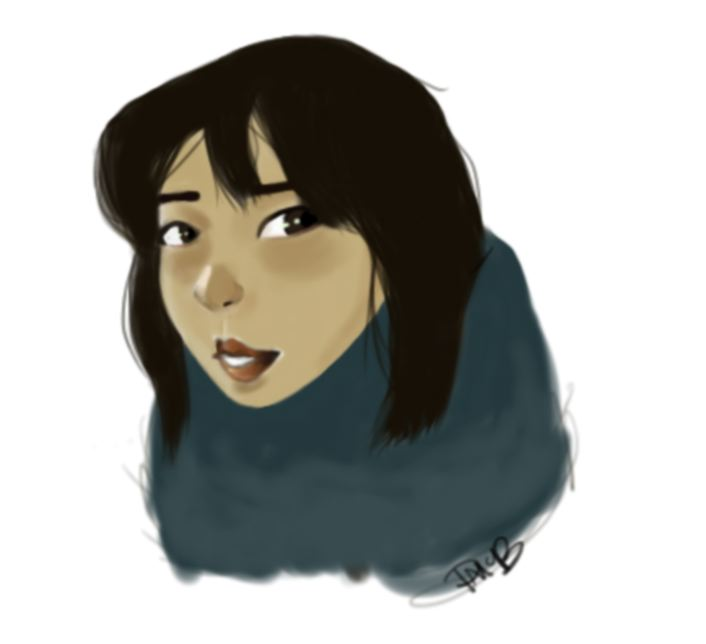 Scarf Girl by paigemcbride