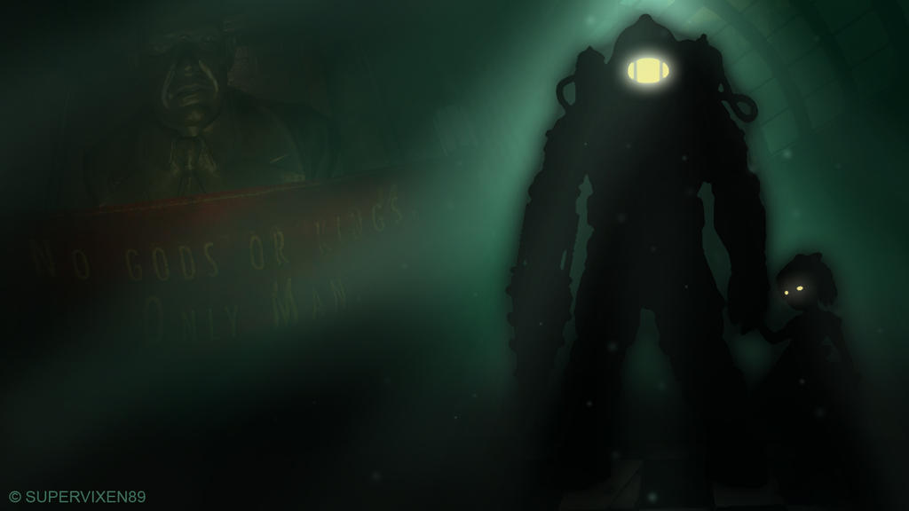 Bioshock 2 Fan Wallpaper By Supervixen89