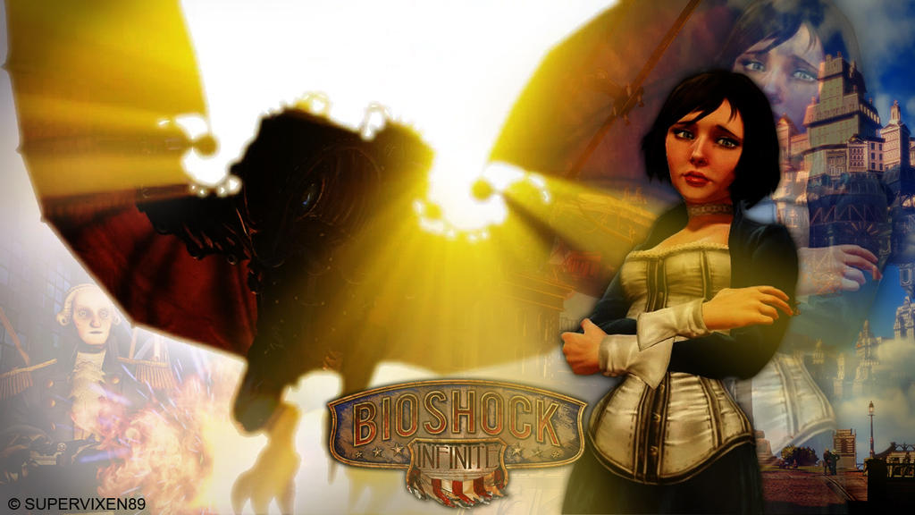 Bioshock Infinite Fan Wallpaper By Supervixen89