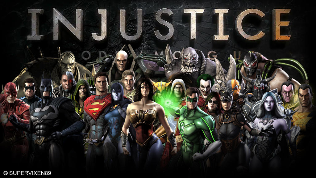 Injustice gods among us fan wallpaper by supervixen89 on deviantart injustice gods among us fan wallpaper by supervixen89 voltagebd Image collections