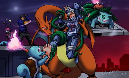Tickle torturing Sheik by Bad-Pierrot