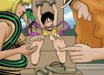 Luffy's Amazon Training