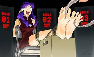 Misato Katsuragi tickle tortured by Bad-Pierrot