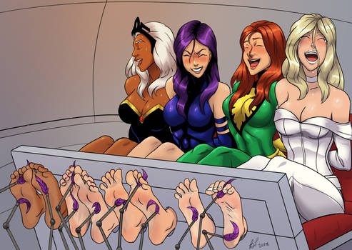 X-girls in Peril Variant (no tape)