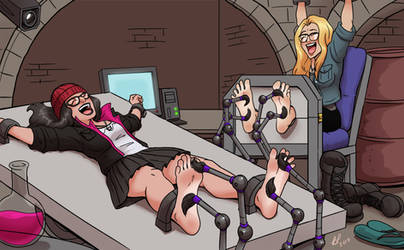 OC bondage tickles
