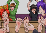Catgirl Tickle Torture