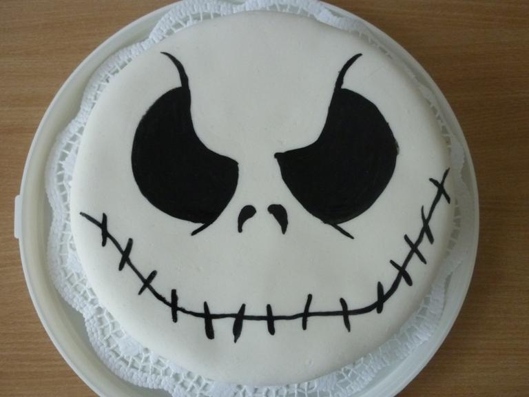 Jack Skellington Cake By Vulpeslupina On Deviantart