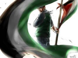 Free Palestine by 13lolol