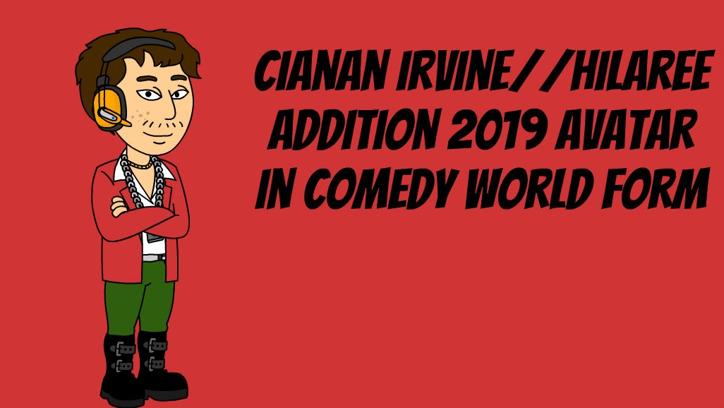 Cianan Irvine Comedy World Avatar by STNG2002 on DeviantArt